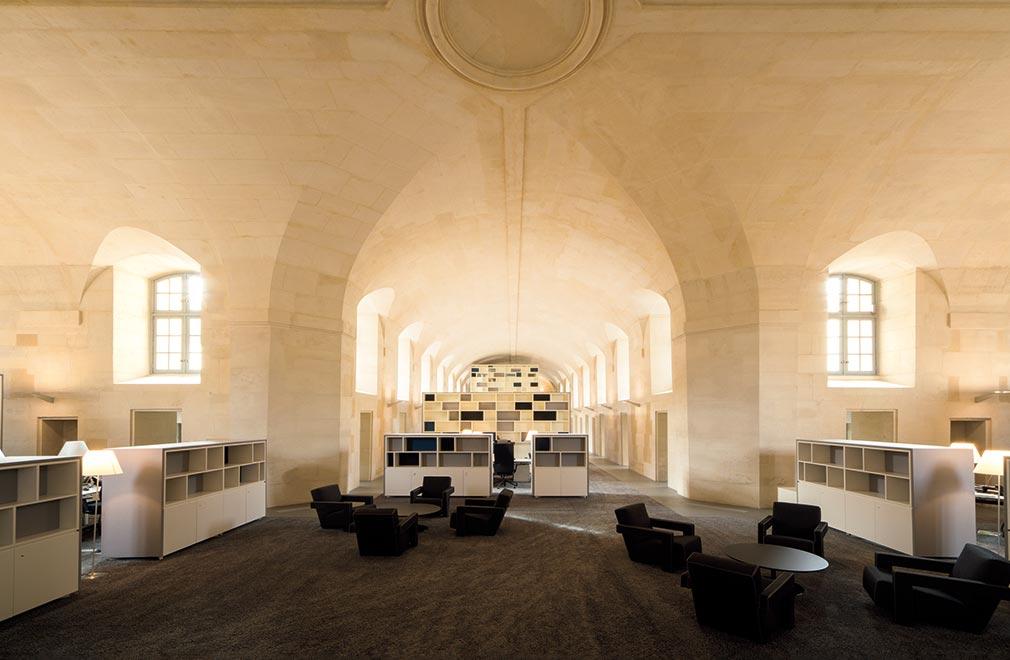 intérieur du 40 rue de Sèvres