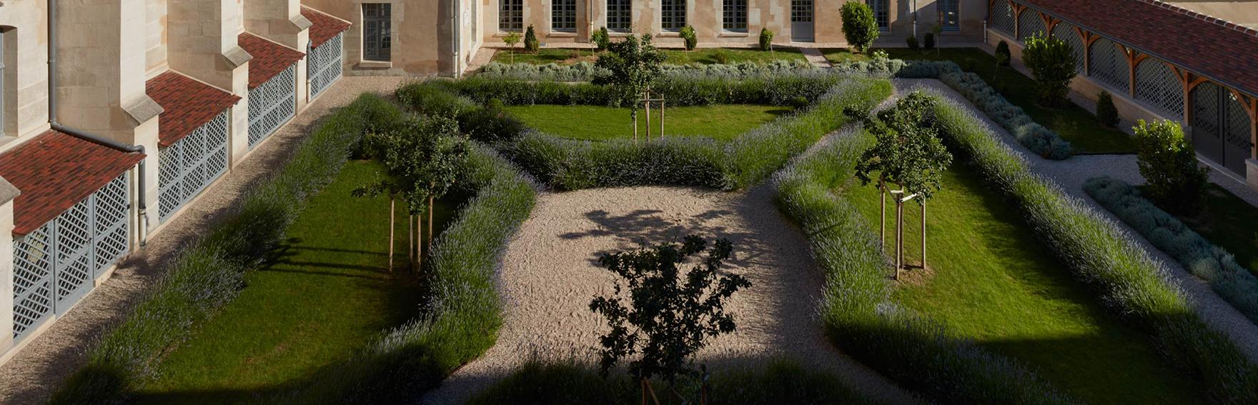 集团总部的花园