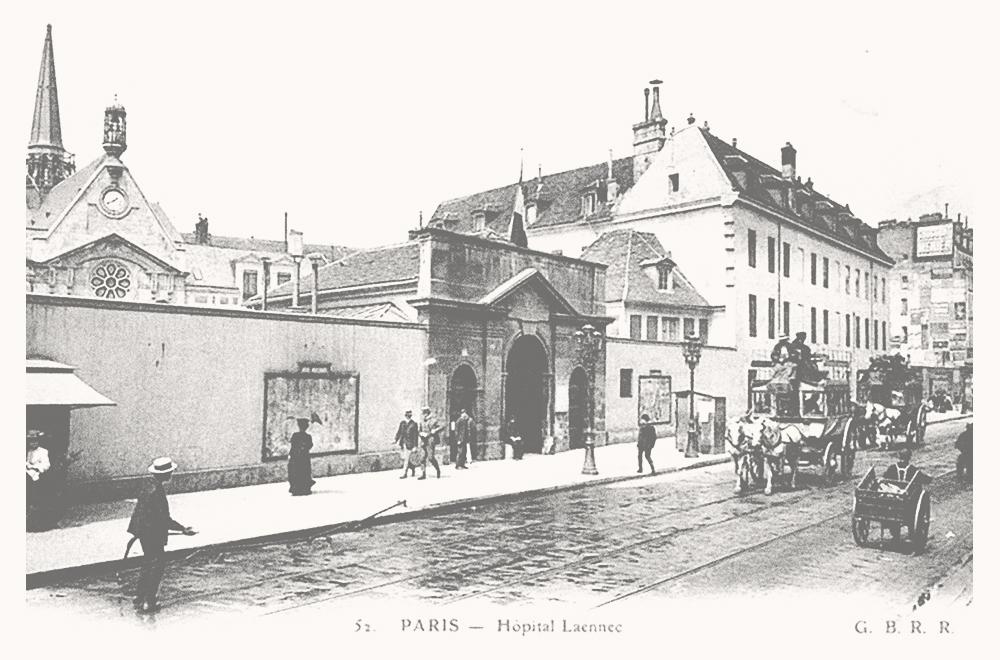 l'hôpital Laennec