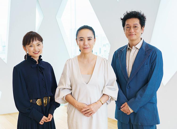 Hiromi Nagasaku, Naomi Kawase and Arata Iura